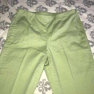 Light green pants. Nice spring & summer color!